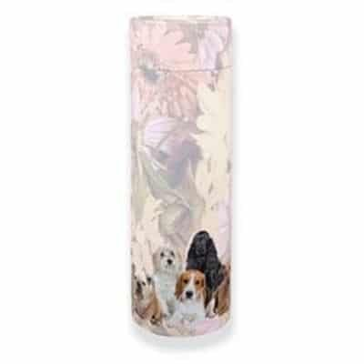 dog ashes scattering tube