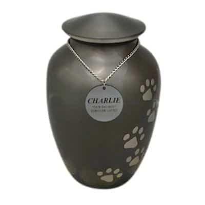 pet cremation perth metal urn option 1