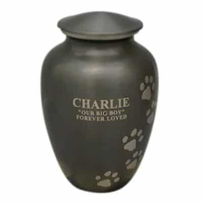 pet cremation perth option 3 laser engrave metal urn