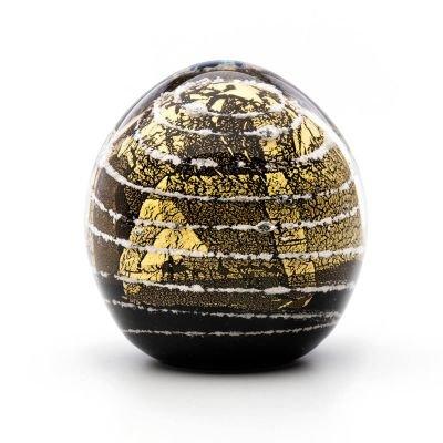 pet cremation keepsake gold leaf dome