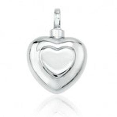 pet jewellery sterling silver heart