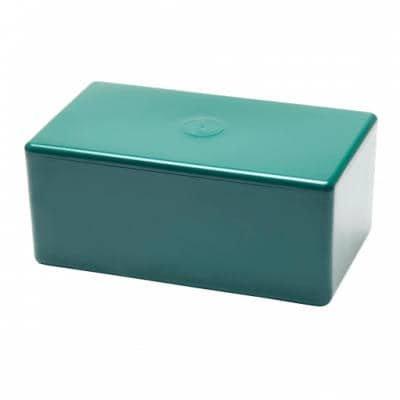 niche green cremation box