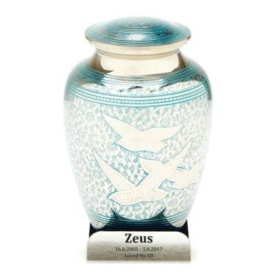 peace doves pet urn