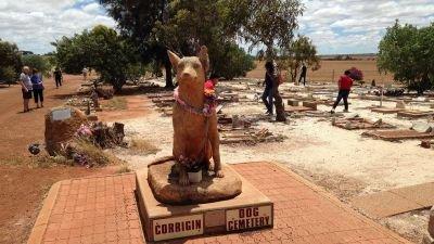 Corrigin Dog Cemetery Statue
