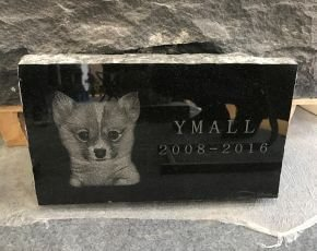 Pet Headstone Polished